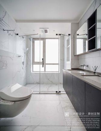 140平米三室两厅现代简约风格卫生间图