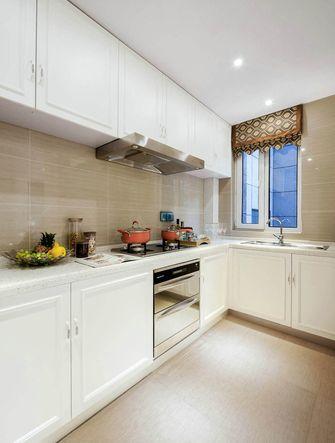 140平米三室一厅欧式风格厨房设计图