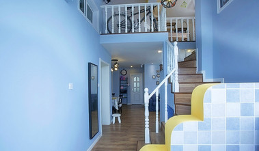 70平米公寓地中海风格玄关设计图