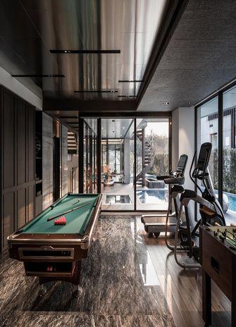 140平米三现代简约风格健身室设计图