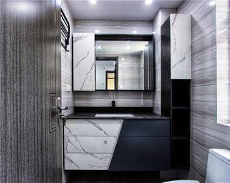 130平米三室两厅中式风格卫生间图片