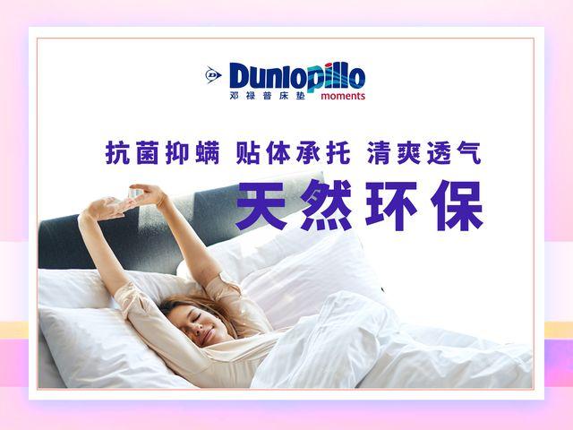 邓禄普乳胶床垫的图片