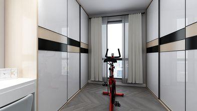 80平米三室两厅现代简约风格健身室效果图