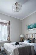 100平米中式风格卧室效果图