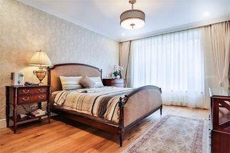 130平米四室一厅混搭风格卧室装修图片大全