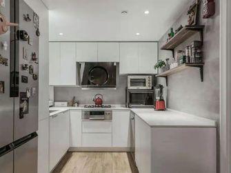 130平米田园风格厨房图片大全