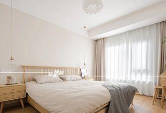 80平米三室两厅日式风格卧室装修效果图