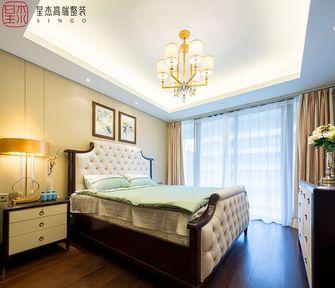 140平米四室两厅混搭风格卧室图片大全