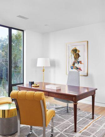 80平米三室两厅混搭风格书房装修图片大全
