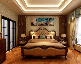 140平米四室一厅新古典风格卧室装修图片大全