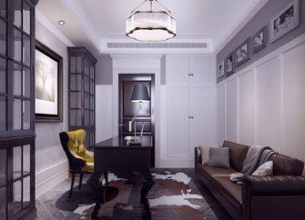 100平米公寓美式风格客厅图片