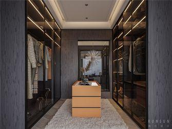 140平米复式混搭风格衣帽间设计图