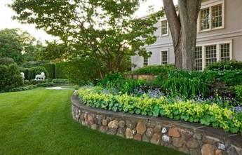 现代简约风格花园设计图