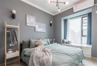 80平米田园风格卧室效果图