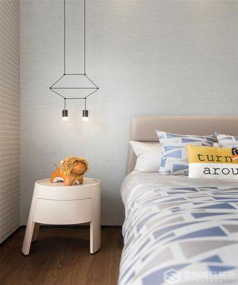 110平米三室一厅欧式风格卧室装修图片大全