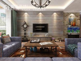 5-10万120平米三室两厅田园风格客厅图片