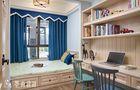 20万以上130平米四室两厅英伦风格卧室效果图