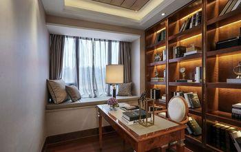 90平米三室一厅新古典风格书房图片大全