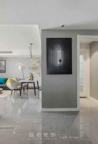 富裕型90平米三室两厅北欧风格玄关图片大全