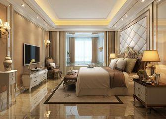 130平米三室四厅欧式风格卧室欣赏图