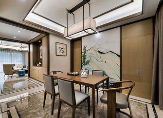 120平米三室一厅中式风格餐厅装修图片大全