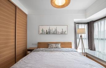 110平米日式风格卧室设计图