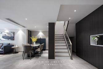 140平米复式田园风格楼梯间装修案例