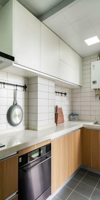 80平米三北欧风格厨房效果图
