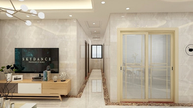 10-15万90平米三现代简约风格客厅装修图片大全