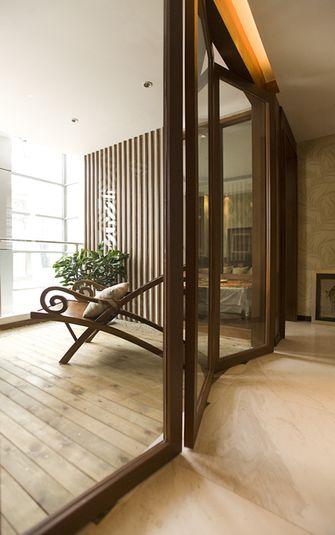 90平米三室两厅东南亚风格阳台设计图