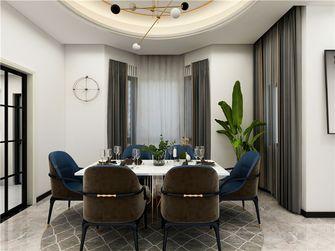 120平米三室三厅现代简约风格餐厅装修图片大全