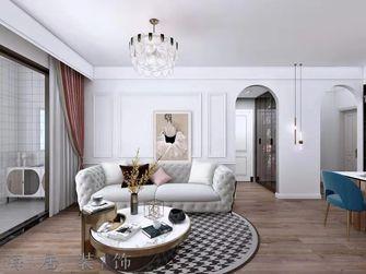 100平米三现代简约风格客厅欣赏图