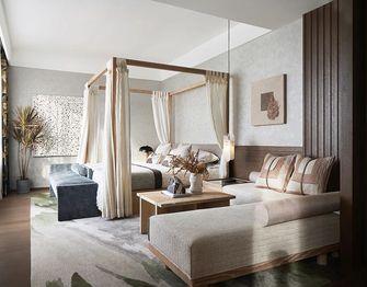 140平米三室两厅中式风格卧室装修效果图