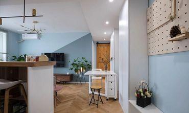 60平米其他风格客厅装修案例