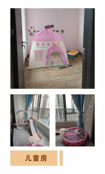 90平米三室两厅中式风格儿童房装修图片大全