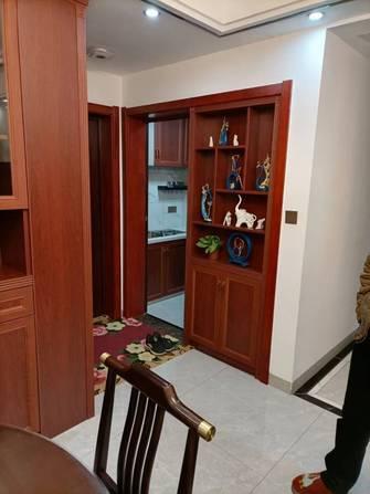 90平米三室两厅中式风格厨房装修效果图