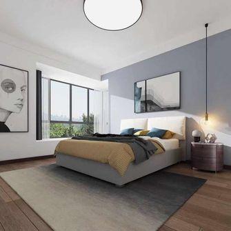 130平米四室一厅现代简约风格卧室欣赏图