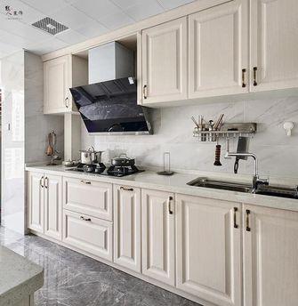 130平米四室两厅美式风格厨房装修案例