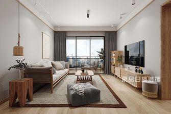 100平米四日式风格客厅装修效果图