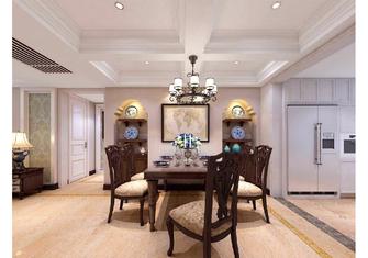 140平米三室一厅美式风格餐厅装修效果图
