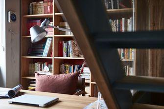 140平米复式北欧风格书房图片大全