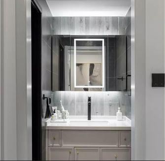 50平米一室两厅现代简约风格卫生间图片