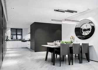 110平米三室一厅英伦风格厨房装修效果图