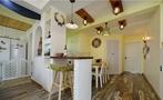 90平米三室两厅地中海风格走廊装修效果图