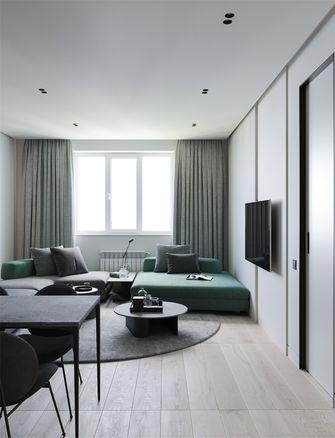 60平米一居室宜家风格客厅图