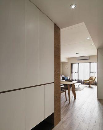 80平米三室两厅日式风格玄关图
