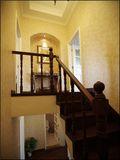 3-5万140平米复式田园风格楼梯图片