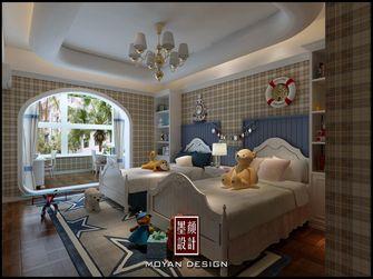 5-10万140平米三室一厅英伦风格儿童房效果图