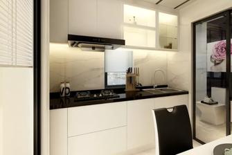 60平米一居室现代简约风格厨房装修图片大全