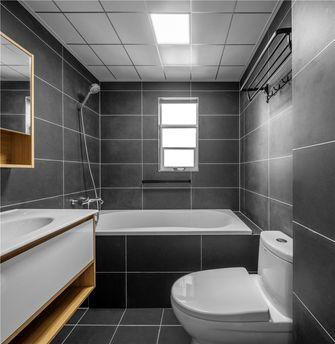 经济型90平米三室两厅北欧风格卫生间图片